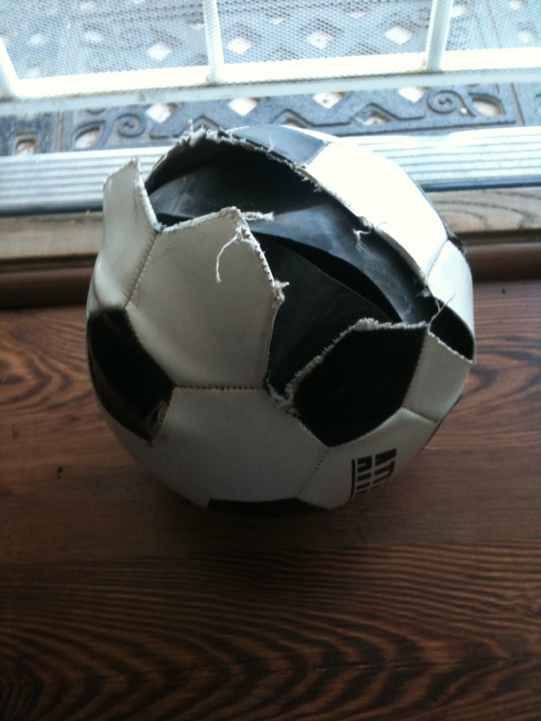 Air Compressor vs Soccer Ball